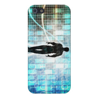Digital Literacy as a Technology Concept Backgroun iPhone 5 Covers