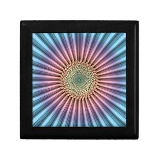 Digital Mandala Flower Gift Box