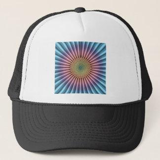Digital Mandala Flower Trucker Hat