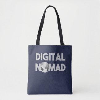 Digital Nomad Traveller Tote Bag