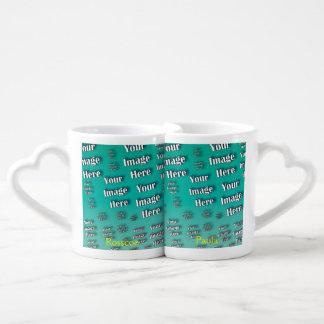 Digital Photo Template Couple Mugs