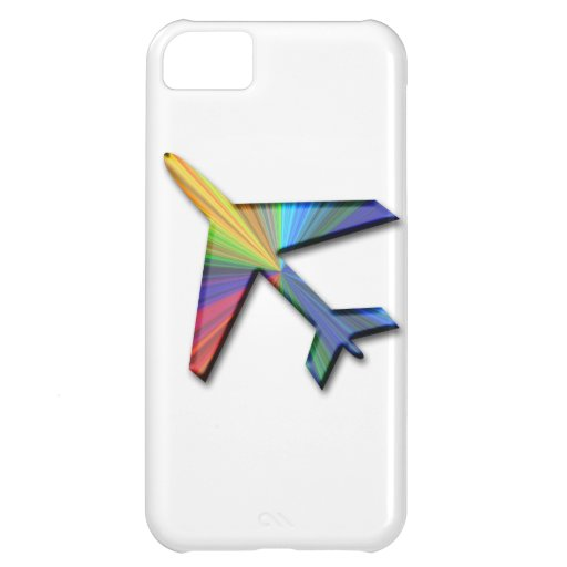 digital plane cover for iPhone 5C