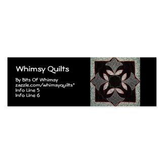 Digital Quilt Business Card Templates