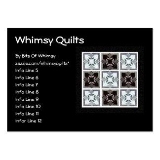 Digital Quilt Business Card Template