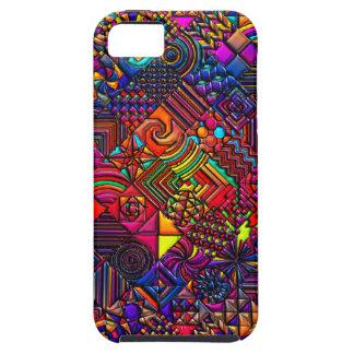 digital quilt modern retro iPhone 5 cases