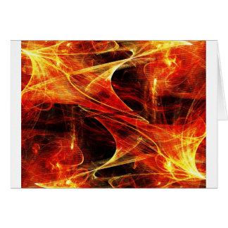 Digital Radial Colours Blur Glow Art Beautiful Des Card