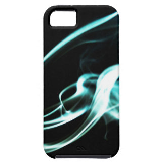 Digital Radial Colours Blur Glow Art Beautiful Des Tough iPhone 5 Case