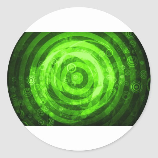 Digital Radial Colours Blur GlowArt Beautiful Desi Sticker