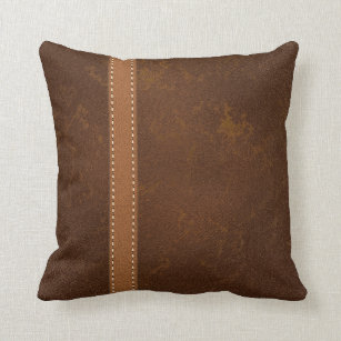 DIGITAL Rugged Brown Raw Hide Leather and Strap Cushion