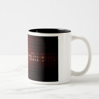 Digital Security and Network Firewall Surveillance Two-Tone Coffee Mug
