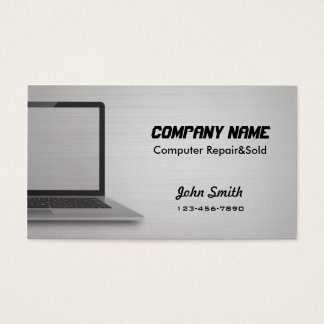 Digital Silver Computer Repair sold business cards