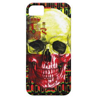 digital Skull (flag of spain) iPhone 5 Cover