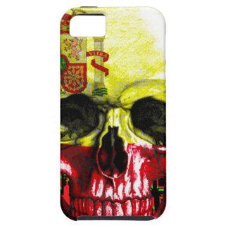 digital Skull (flag of spain) iPhone 5 Covers