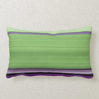 Digital Stripe Design American Mojo Lumbar Pillow Cushion