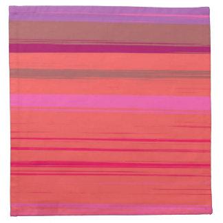 Digital Stripe Design American Mojo Napkins