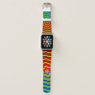 Digital Sunset by Kenneth Yoncich Apple Watch Band