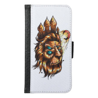 Digital Tattoo Samsung Galaxy S6 Wallet Case