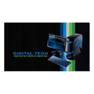 Digital Tech Computer Business Cards