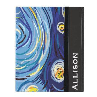 Digital Van Gogh iPad Cases