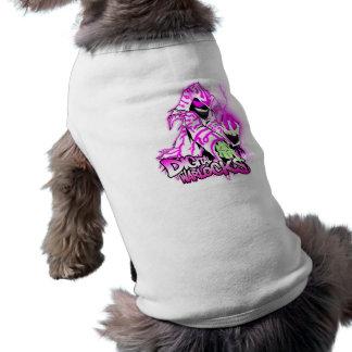 Digital Warlocks Pink and White Warlock - Doggie R Dog Tshirt