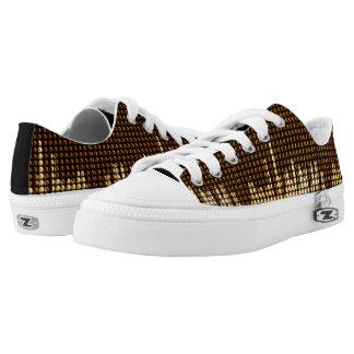 Digital Wave Design  Zip Z shoes Printed Shoes