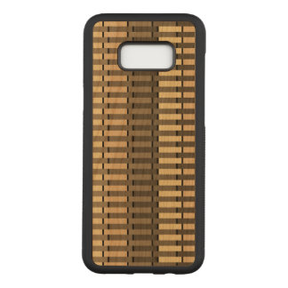 Digital Weave Pattern Carved Samsung Galaxy S8+ Case