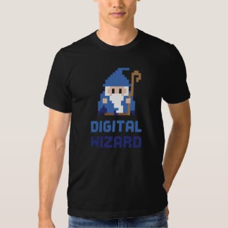 Digital Wizard T Shirts