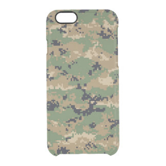 Digital Woodland Camo No.2 Uncommon Clearly™ Deflector iPhone 6 Case