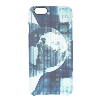 Digital World and Technology Lifestyle Industry Clear iPhone 6/6S Case