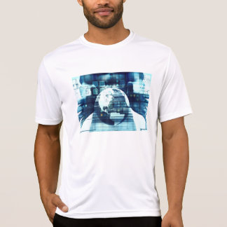 Digital World and Technology Lifestyle Industry T-Shirt