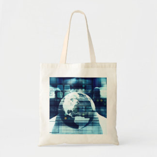 Digital World and Technology Lifestyle Industry Tote Bag