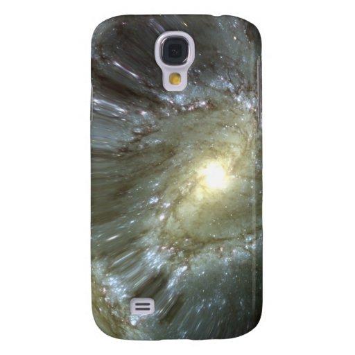 Digitally altered galaxy samsung galaxy s4 cover