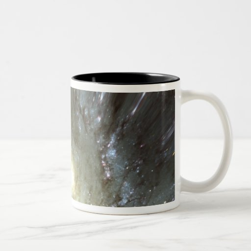 Digitally altered galaxy mugs