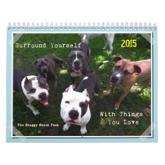 Digitally Artistic Shaggy Shack Calendar 2015