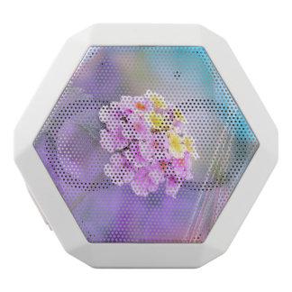 Digitally Enhanced Flower White Boombot Rex Bluetooth Speaker