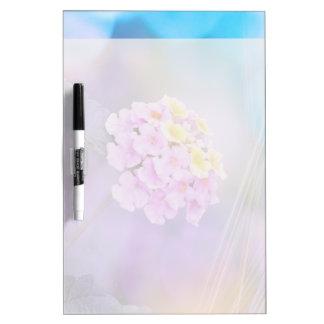 Digitally Enhanced Flower Dry Erase Whiteboard