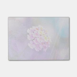 Digitally Enhanced Flower Post-It Notes