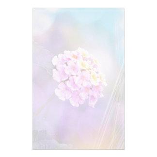 Digitally Enhanced Flower Customised Stationery