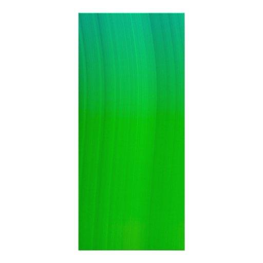 DIGITALLY green Rack Card Design