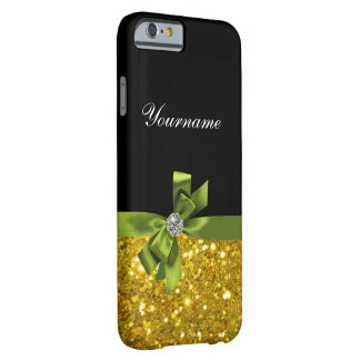 Digitally Printed Rhinestone Jewel Glitter Barely There iPhone 6 Case