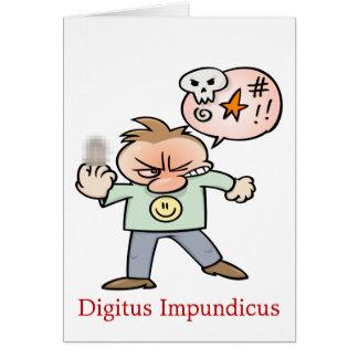 Digitus Impundicus Card