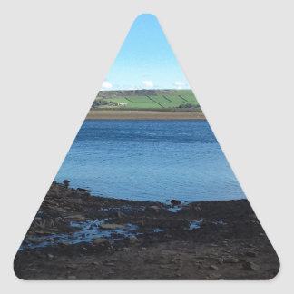 Digley Reservoir Triangle Sticker