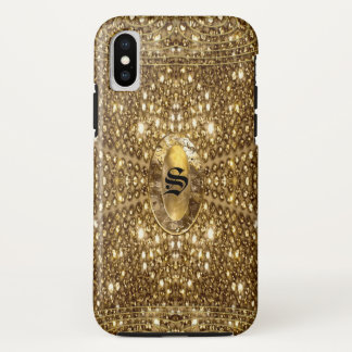 Digloos Gleem Beautiful Monogram iPhone X Case
