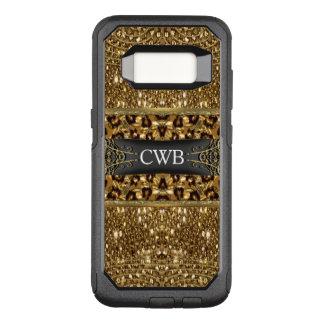 Digloos Leopard Girly VIII Monogram OtterBox Commuter Samsung Galaxy S8 Case