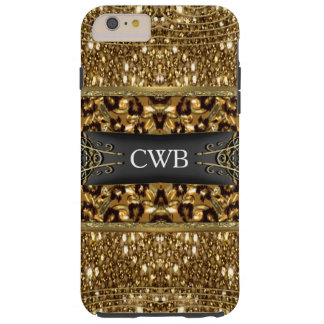 Digloos Leopard Monogram 6/6s  Plus Tough iPhone 6 Plus Case