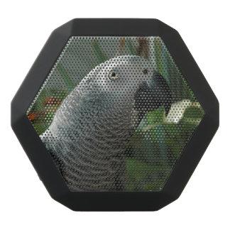 Dignified African Grey Parrot Black Boombot Rex Bluetooth Speaker