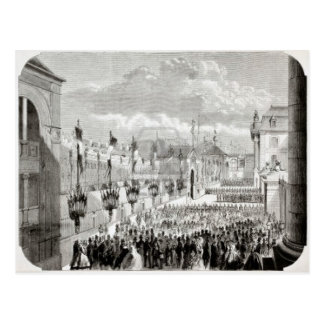 Dijon, opening of Dijon Exhibition Postcard