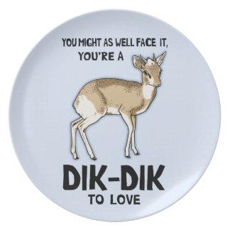 Dik-Dik To Love Plate