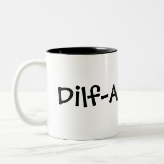 Dilf Dad Two-Tone Mug