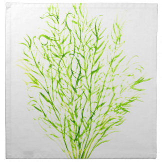 Dill herbs Dill watercolour Napkin